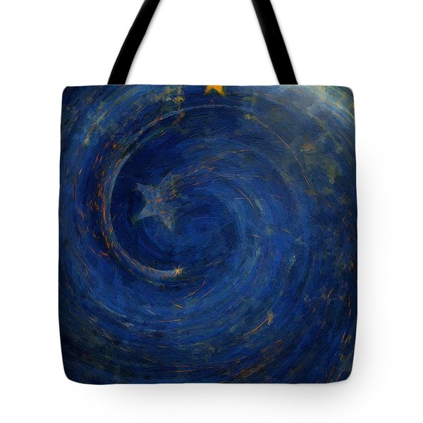 Birthed In Stars Tote Bag