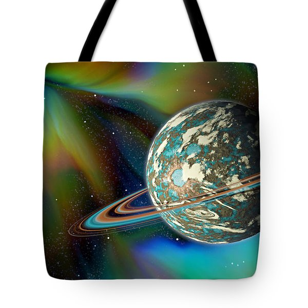 Birthing Planet Tote Bag