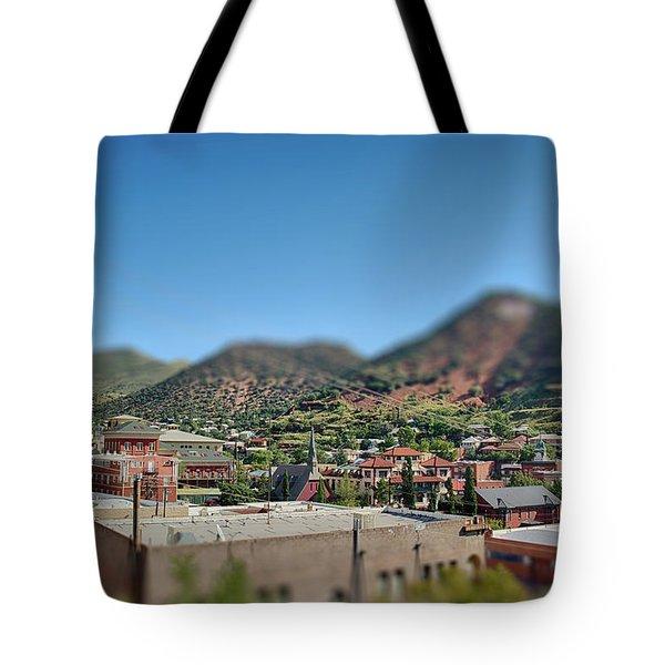 Bisbee Arizona Tote Bag