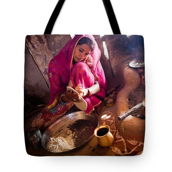 Bishnoi Kitchen Tote Bag