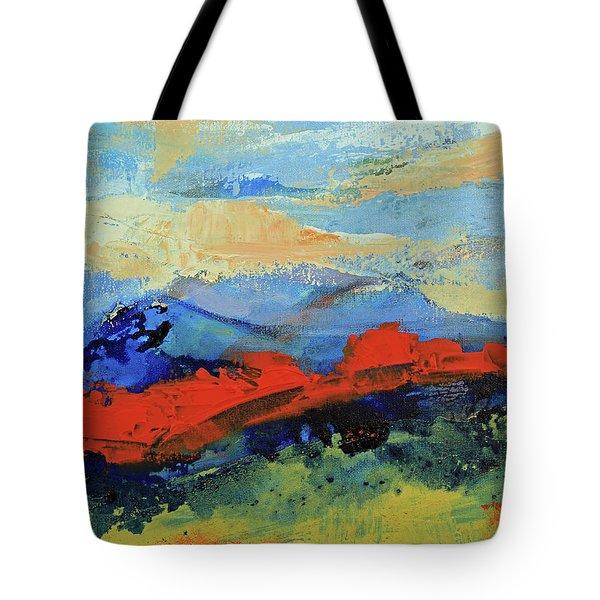 Bishop Mountains - Fall 2016 Tote Bag