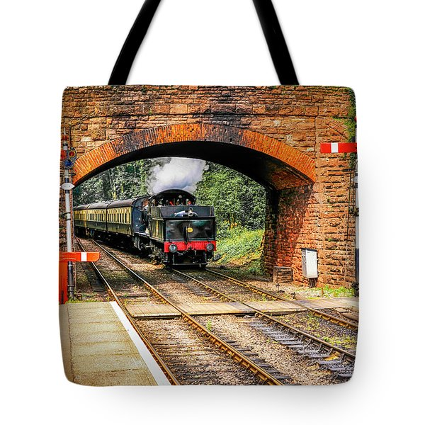 Bishops Lydeard Station, Uk Tote Bag