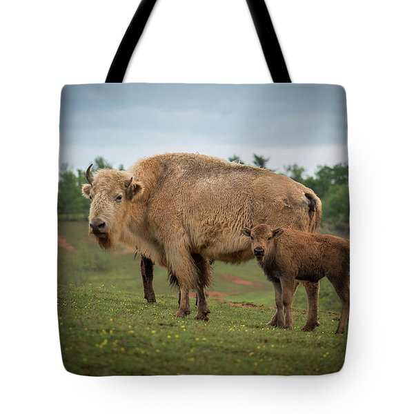 Tote Bag featuring the photograph Bison 7 by Joye Ardyn Durham