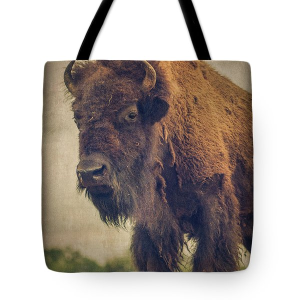 Tote Bag featuring the photograph Bison 8 by Joye Ardyn Durham