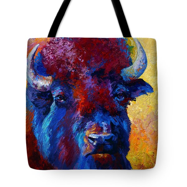 Bison Boss Tote Bag