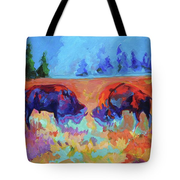 Bison Contest Tote Bag