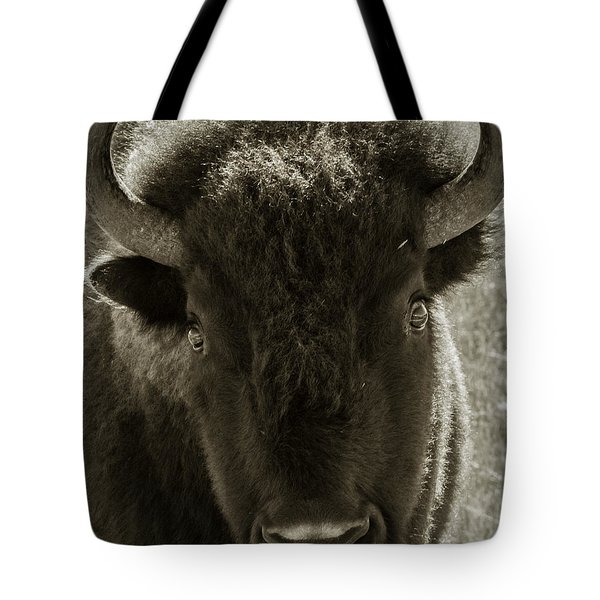 Bison Surprise Tote Bag