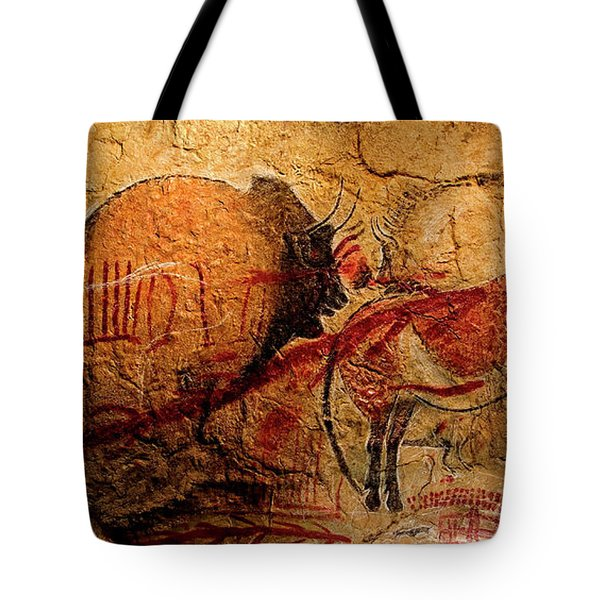 Bisons Horses And Other Animals Closer Tote Bag