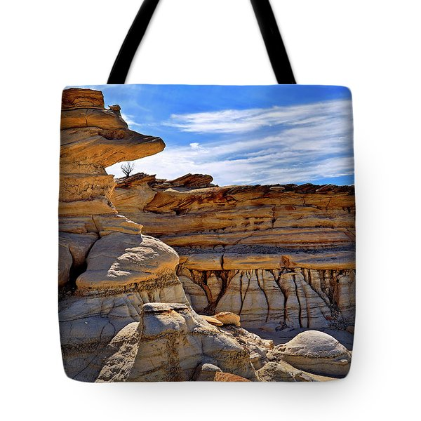 Bisti Badlands Formations - New Mexico - Landscape Tote Bag by Jason Politte