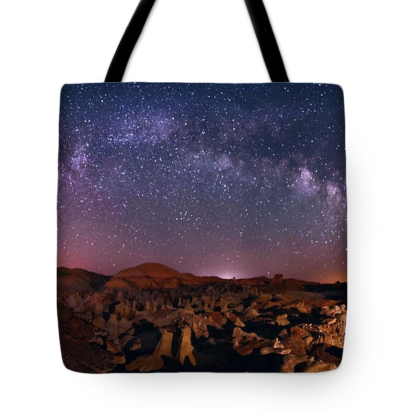 Bisti Badlands Night Sky - 2 Tote Bag
