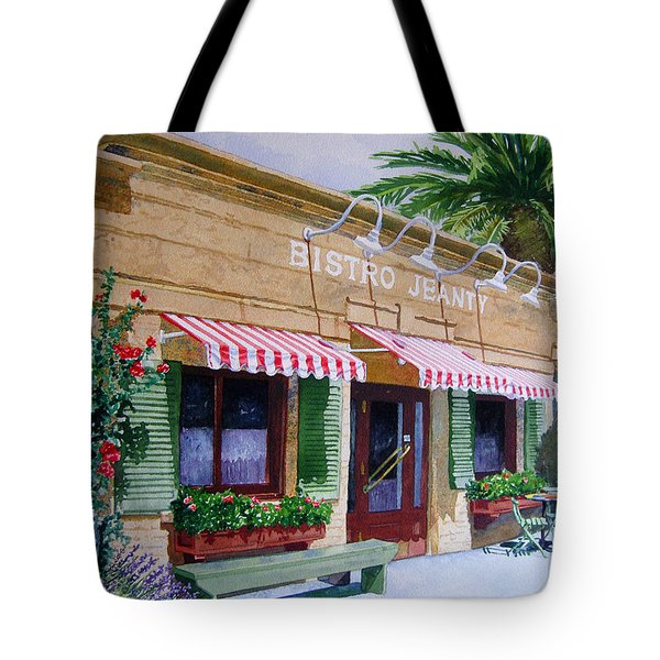 Bistro Jeanty Napa Valley  Tote Bag