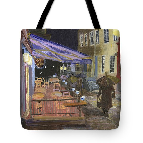 Bistro Sous Le Fort Tote Bag