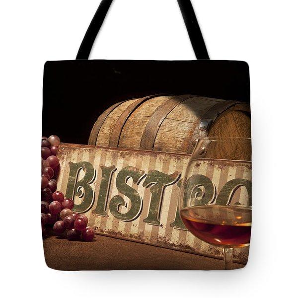 Bistro Still Life II Tote Bag by Tom Mc Nemar