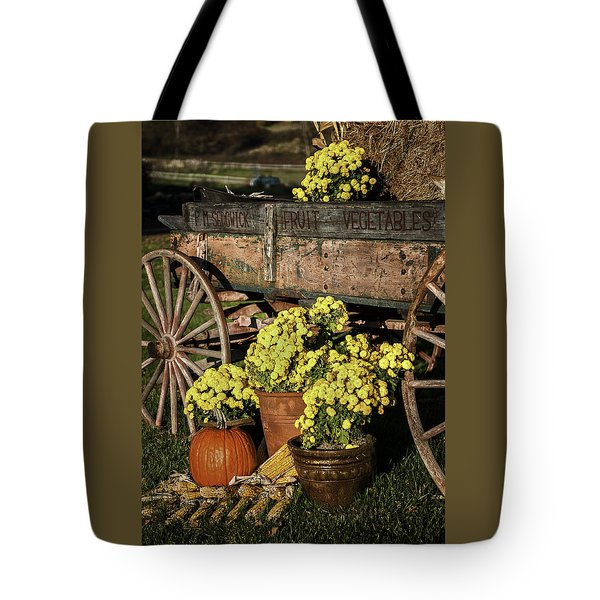 Bit Of Country - Vermont Style Tote Bag