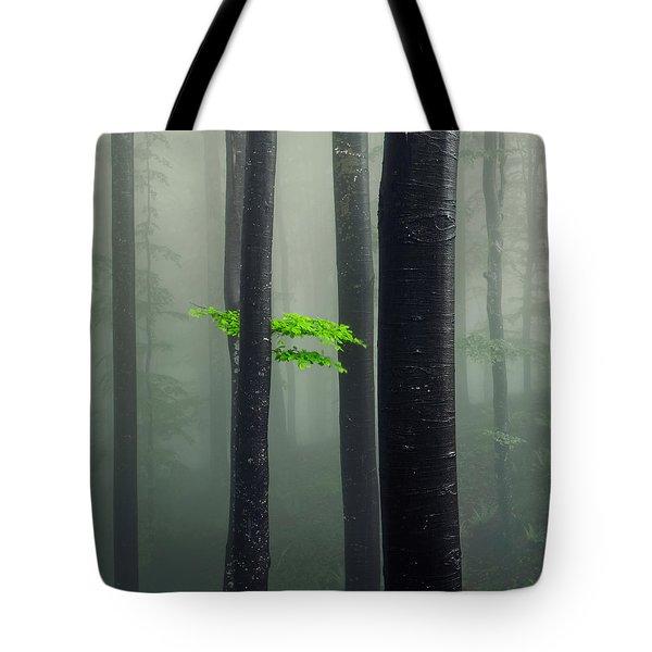 Bit Of Green Tote Bag