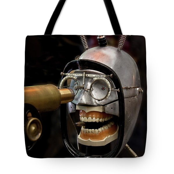 Bite The Bullet - Steampunk Tote Bag
