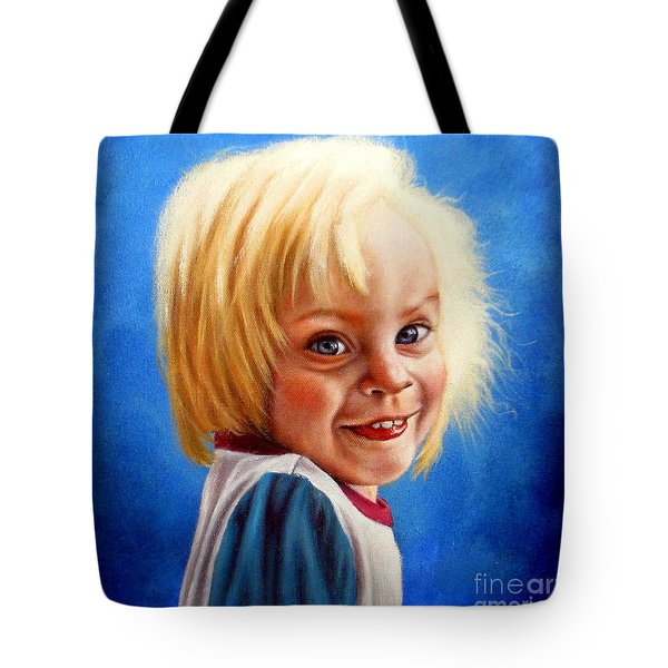 Bite Your Tongue  Tote Bag