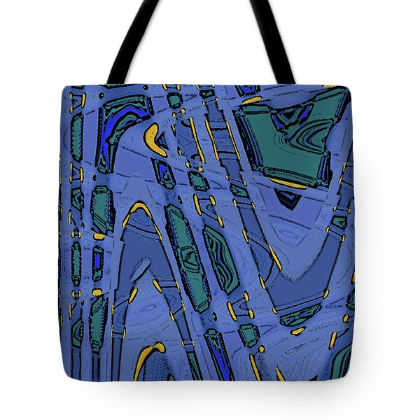 Bits And Pieces - Cool Tote Bag by Ben and Raisa Gertsberg