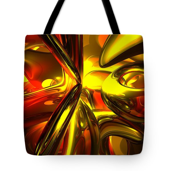 Bittersweet Abstract Tote Bag by Alexander Butler