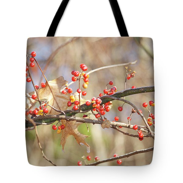 Bittersweet And Oak Tote Bag by Michael Peychich