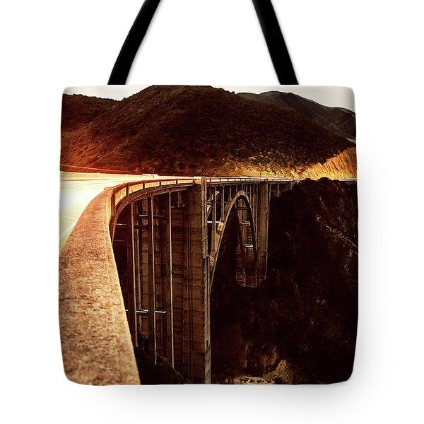 Bixby Creek Bridge, California Tote Bag