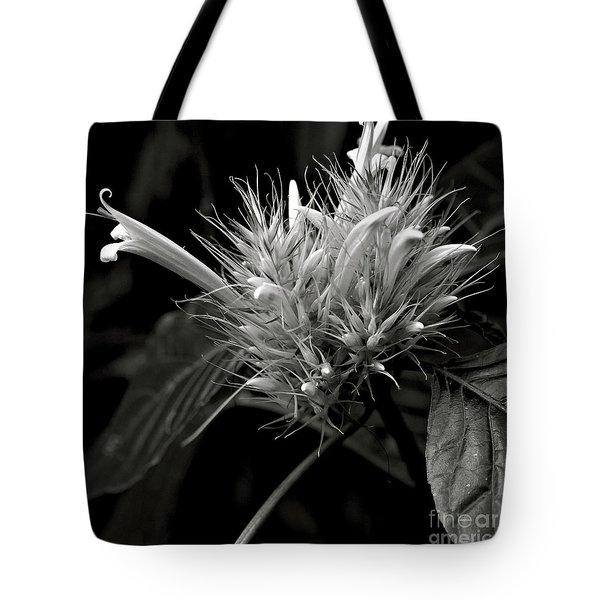 Bizarre Flower Charm Tote Bag