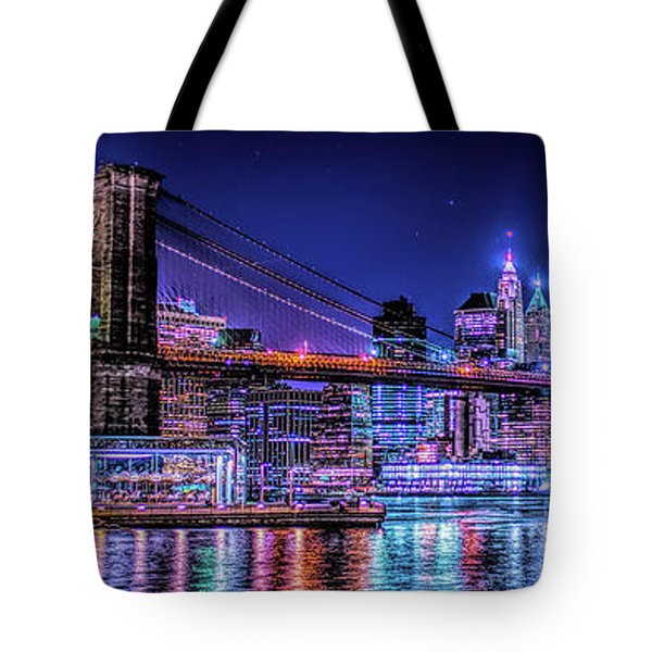 Tote Bag featuring the photograph Bk Glow by Theodore Jones