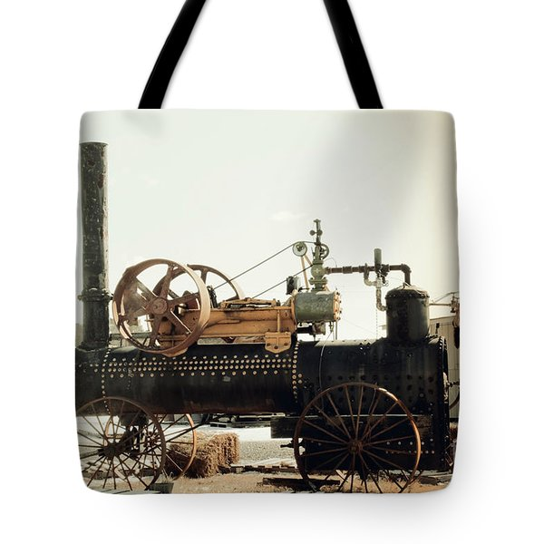 Black And Glorious Steam Machine Tote Bag