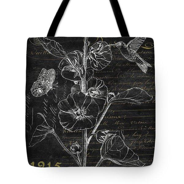 Black And Gold Hummingbirds 1 Tote Bag