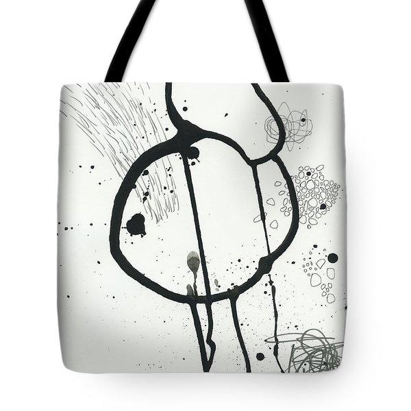 Black And White # 24 Tote Bag