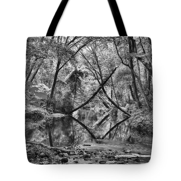 Black And White 40 Tote Bag
