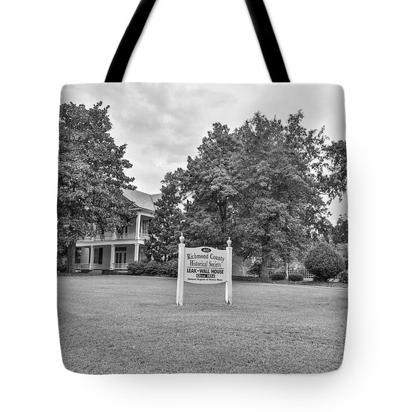 Black And White 58 Tote Bag