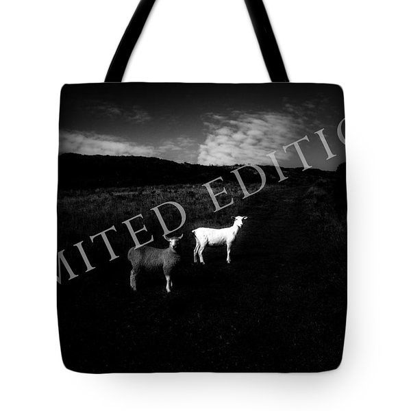 Black And White Tote Bag by Dorit Fuhg