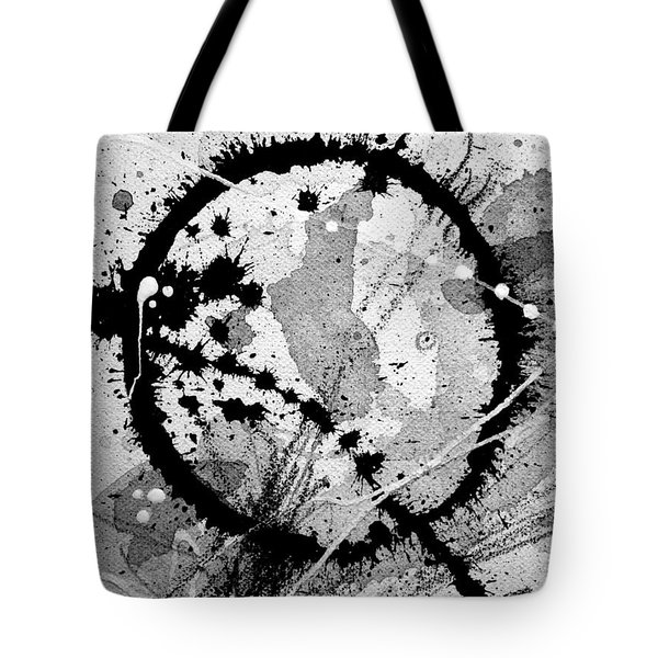 Black And White Five Tote Bag