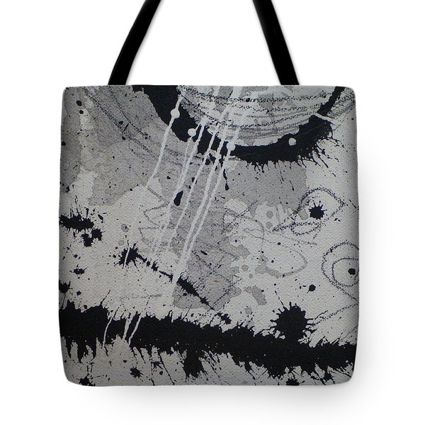 Black And White Four Tote Bag