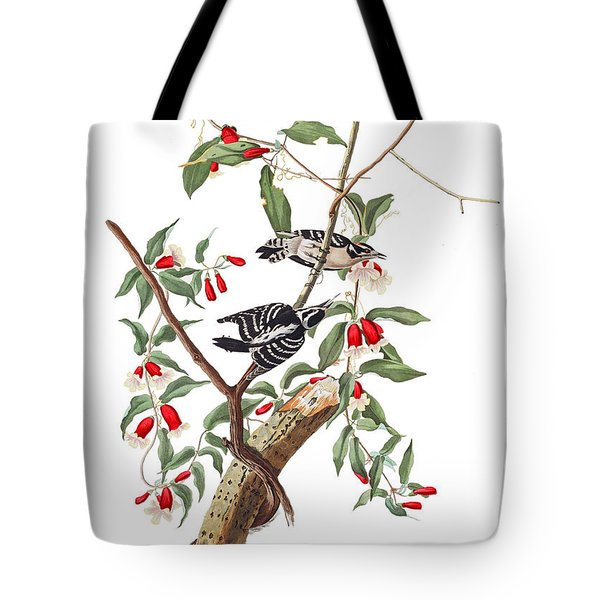 Tote Bag featuring the photograph Black And White by Munir Alawi