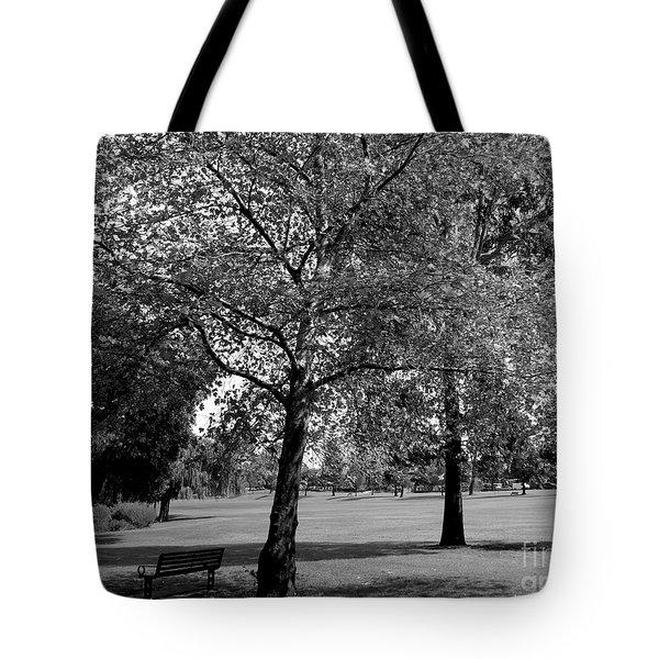 Black And White Nature Tote Bag