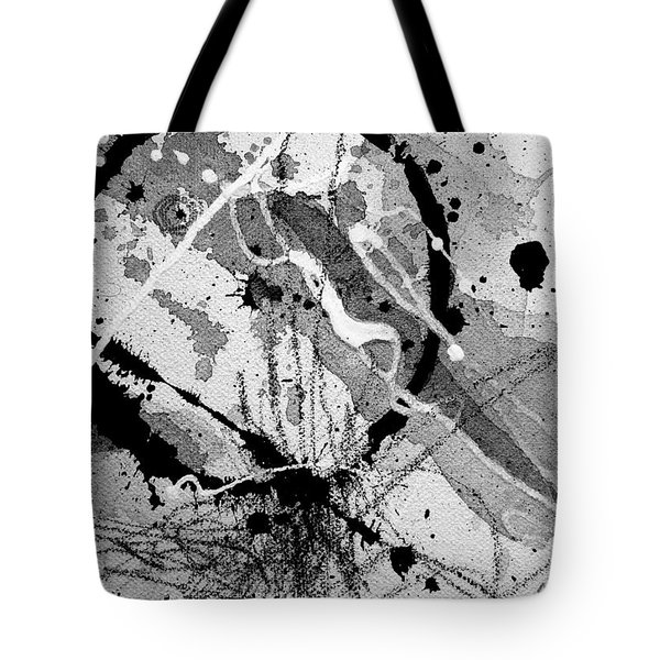Black And White One Tote Bag