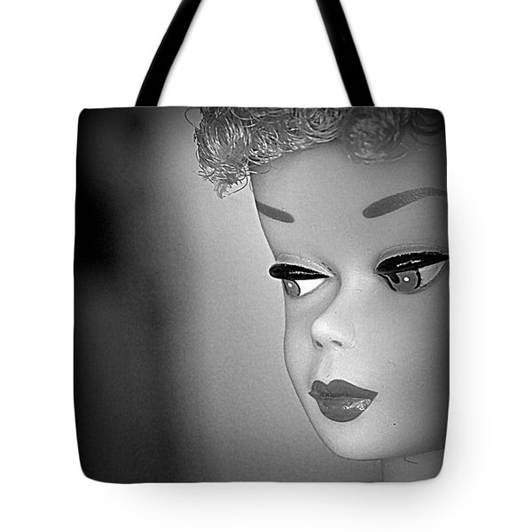 Black And White Reproduction Tote Bag