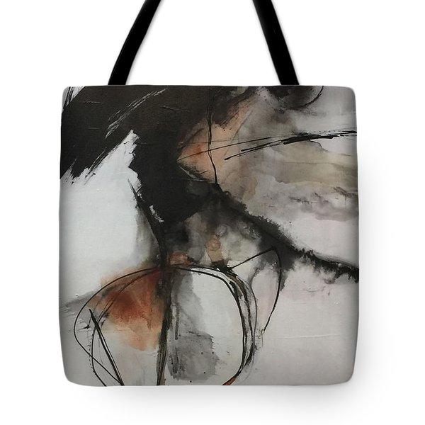 Black And White Study Tote Bag