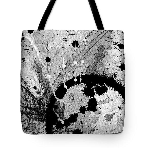 Black And White Three Tote Bag
