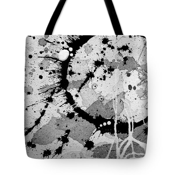 Black And White Two Tote Bag