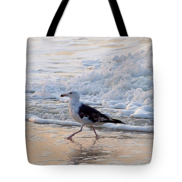 Black-backed Gull Tote Bag