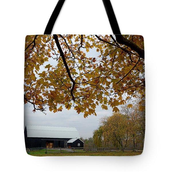 Black Barn Farm Tote Bag