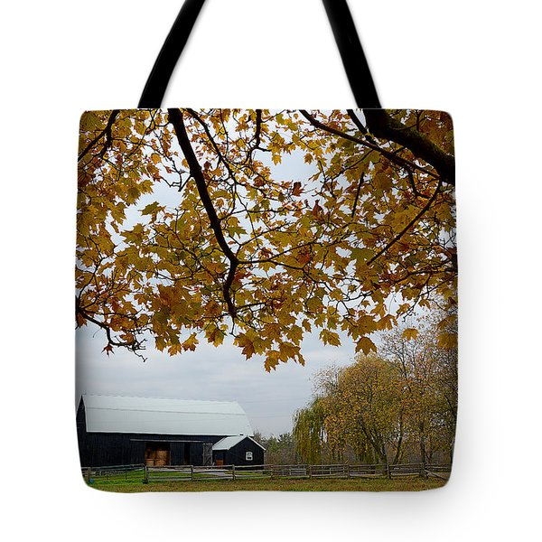 Black Barn Farm Tote Bag