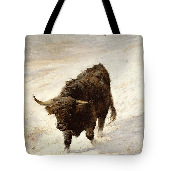Black Beast Wanderer  Tote Bag