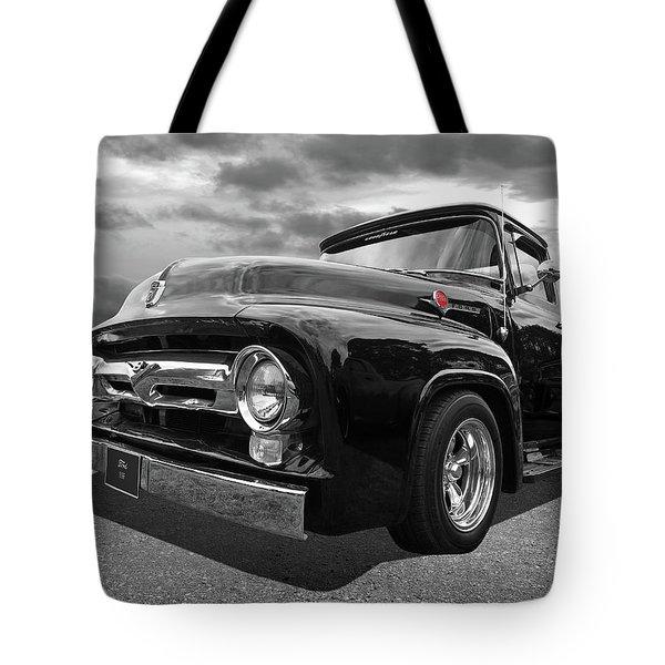 Black Beauty - 1956 Ford F100 Tote Bag