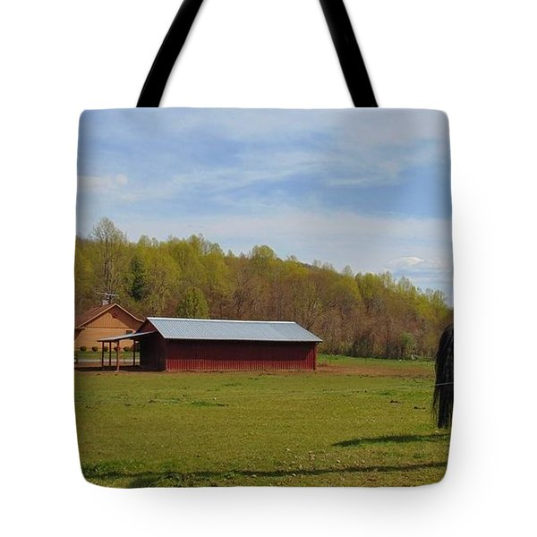Black Beauty Tote Bag by Charlotte Gray