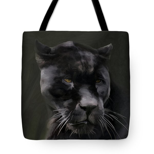 Black Beauty Tote Bag by Vic Weiford