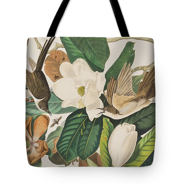 Black Billed Cuckoo Tote Bag by John James Audubon